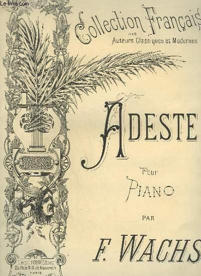 ADESTE POUR PIANO - N°11 : GUIRLANDE DE FLEUR.