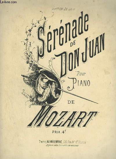SERENADE DE DON JUAN POUR PIANO.