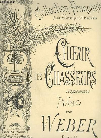CHOEUR DES CHASSEURS - POUR PIANO.