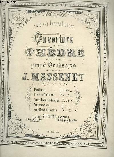 OUVERTURE DE PHEDRE POUR PIANO 2.