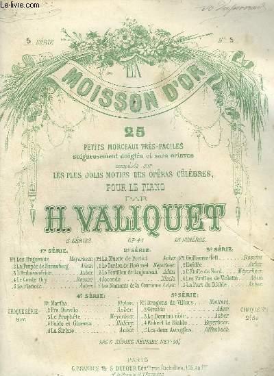 MOISON D'OR - N°5 : LES DEUX AVEUGLES - POUR PIANO.