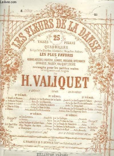 LES FLEURS DE LA DANSE - N°25 : L'ETOILE DU NORD - POLKA MAZURKA POUR PIANO.