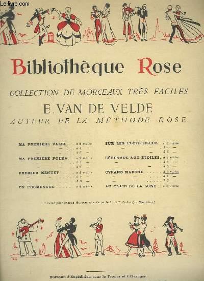 BIBLIOTHEQUE ROSE : CYRANO MARCHE - POUR PIANO.