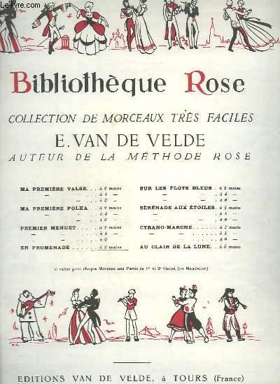 BIBLIOTHEQUE ROSE : EN PROMENADE - POUR PIANO.