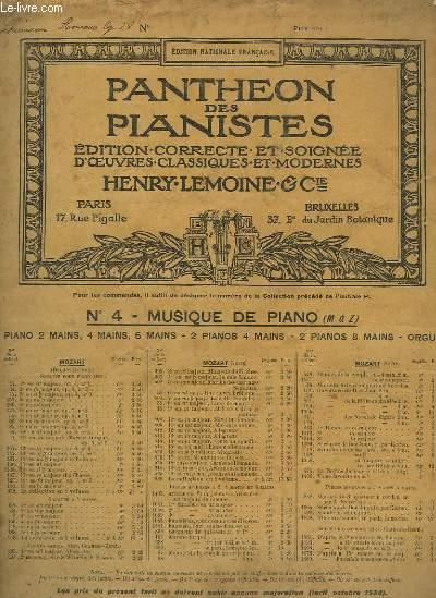 ROMANCE - OP.28 POUR PIANO.