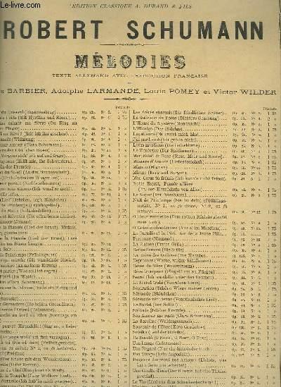 J'AI PARDONNE / ICH GROLLE NICHT - N°7 : DES AMOURS DU POETE / AUS DICHTERLIERE - PIANO ET CHANT.