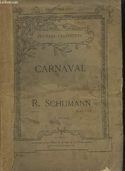 CARNAVAL - POUR PIANO.