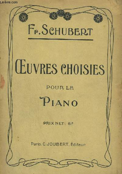OEUVRES CHOISIES POUR LE PIANO.