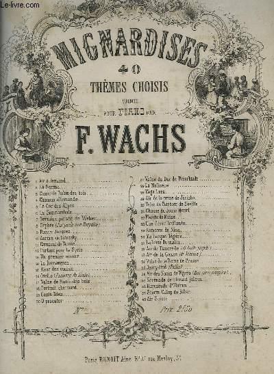 MIGNARDISES - N°28 : UNE FIEVRE BRULANTE - PIANO.