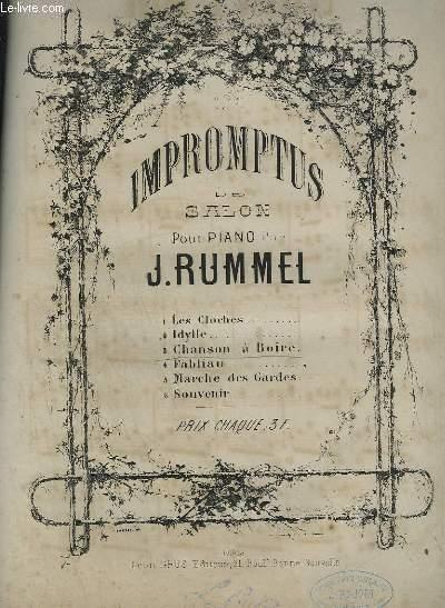 IMPROMPTUS DE SALON POUR PIANO N°3 : CHANSON A BOIRE.
