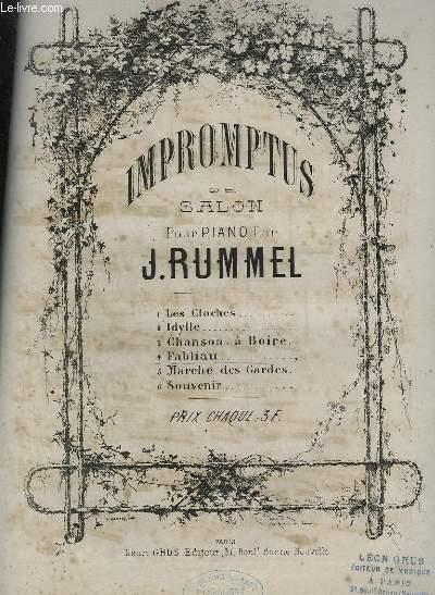 IMPROMPTUS DE SALON POUR PIANO N°4 : FABLIAU.