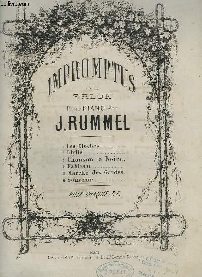 IMPROMPTUS DE SALON POUR PIANO N°6 : SOUVENIR.