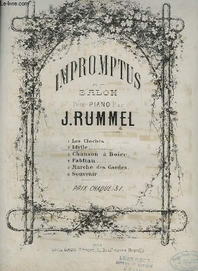 IMPROMPTUS DE SALON POUR PIANO N°2 : IDYLLE.