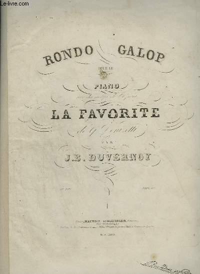 RONDO GALOP POUR LE PIANO.