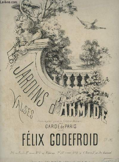 LES JARDINS D'ARMIDE - VALSE POUR PIANO.