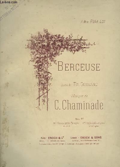 BERCEUSE - POUR PIANO ET CHANT BARYTON OU MEZZO SOPRANO.