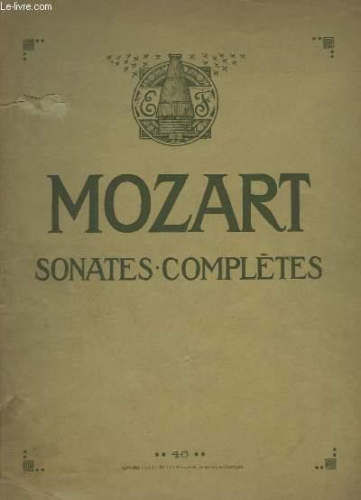 SONATES COMPLETES - POUR LE PIANO.