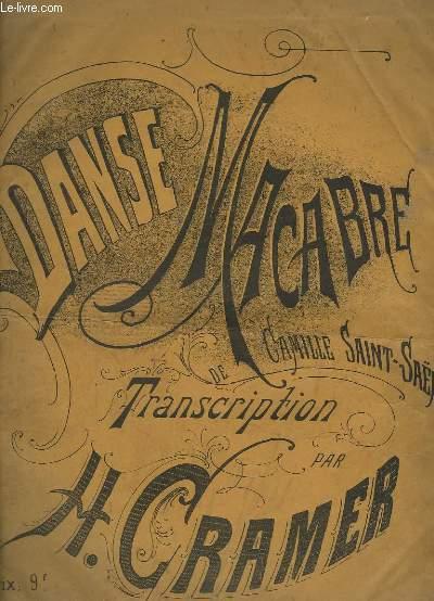 DANSE MACABRE - POEME SYMPHONIQUE POUR PIANO.