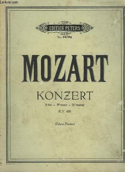KONZERT - K.V.450.