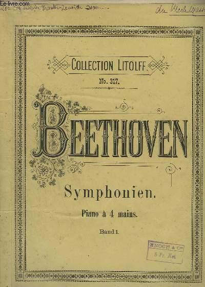 5 SYMPHONIEN - PIANO A 4 MAINS.