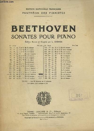 SONATE POUR PIANO N°14 - OP.27 N°2 EN UT # MINEUR.