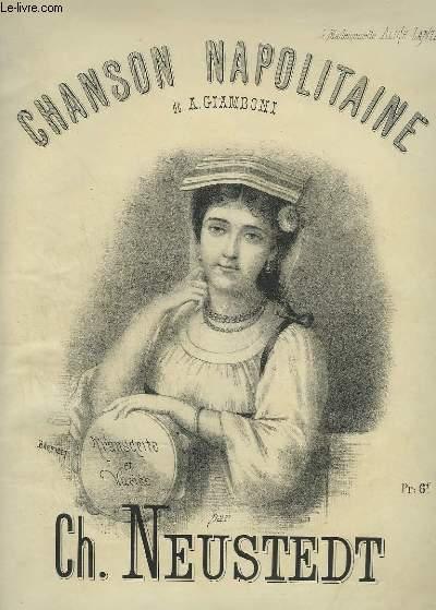 CHANSON NAPOLITAINE - PIANO.