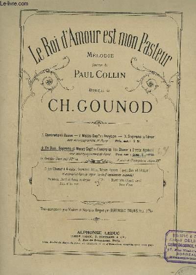 LE ROI D'AMOUR EST MON PASTEUR - PIANO ET CHANT DUO.