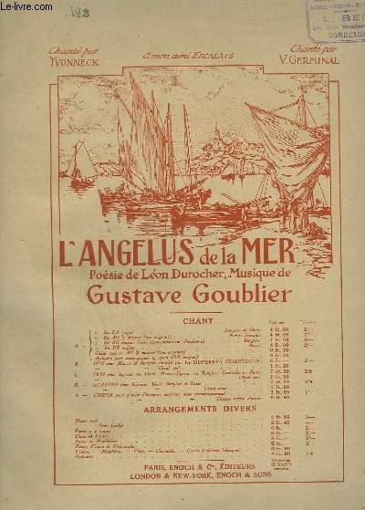 L'ANGELUS DE LA MER - N°2 : PIANO ET CHANT EN MI B MAJEUR - TON ORIGINAL.