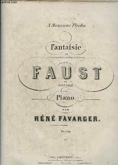 FANTAISIE DE FAUST - PIANO.