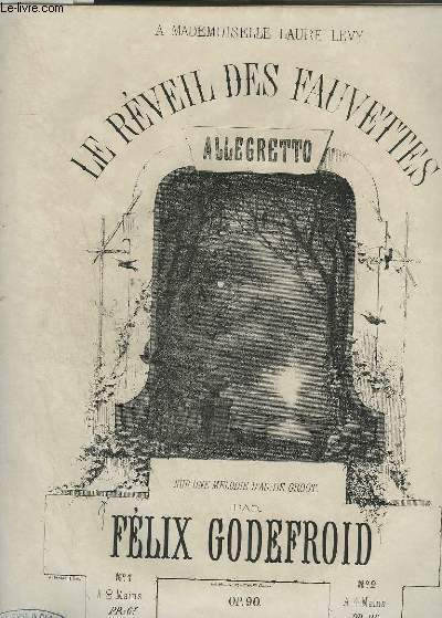 LE REVEIL DES FAUVETTES - ALLEGRETTO POUR PIANO.