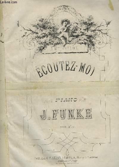 ECOUTEZ MOI - POUR PIANO.