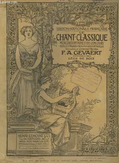 LE CHANT CLASSIQUE - N°13 : RECITATIF ET CAVATINE DE CERES -