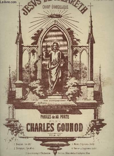 JESUS DE NAZARETH - N°3 : EVANGALIQUE POUR ORGUE / CHANT + PIANO.
