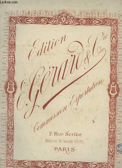 DERNIERE PENSEE MUSICALE - PIANO.