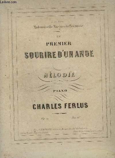LE PREMIER SOURIRE D'UN ANGE - MELODIE POUR PIANO.