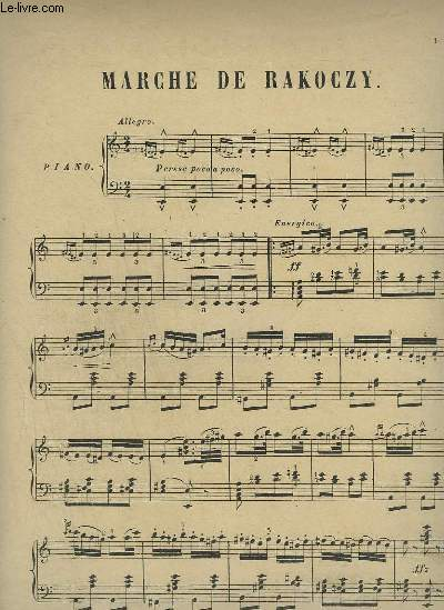 MARCHE DE RAKOCZY - PIANO.