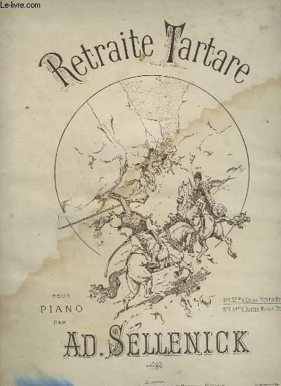 RETRAITE TARTARE - POUR PIANO.