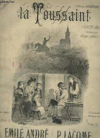 LA TOUSSAINT - POUR PIANO ET CHANT BARYTON OU MEZZO SOPRANO.