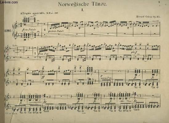 NORWEGISCHE TANZE - OP.35.