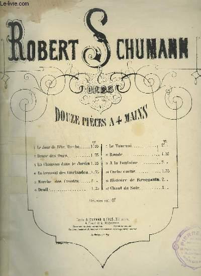 EN TRESSANT DES GUIRLANDES - POUR PIANO A 4 MAINS.