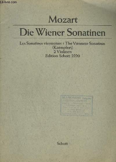 DIE WIENER SONATINEN / LES SONATINES VIENNOISES / THE VIENNESE SONATINAS - 2 VIOLINEN.