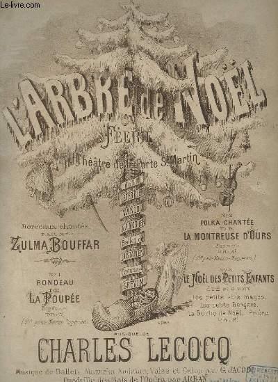 L'ARBRE DE NOEL - RONDEAU DE POUPEE POUR PIANO ET CHANT.