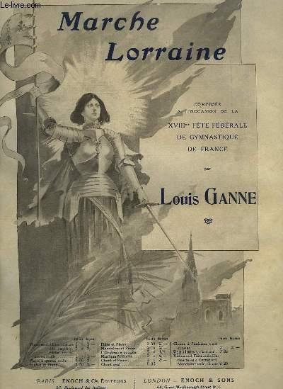 MARCHE LORRAINE - PIANO.
