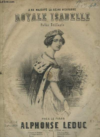ROYALE ISABELLE - POLKA BRILLANTE POUR PIANO.