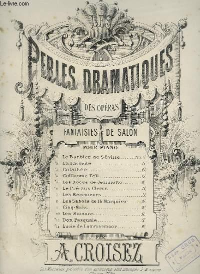 PERLES DRAMATIQUES DES OPERA - N°5 : LES NOCES DE JEANNETTE.