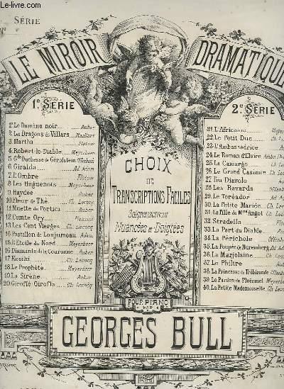 LE MIROIR DRAMATIQUE - N°31 : LA FILLE DE MADAME ANGOT.