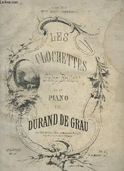 LES CLOCHETTES - GALOP BRILLANT POUR PIANO.
