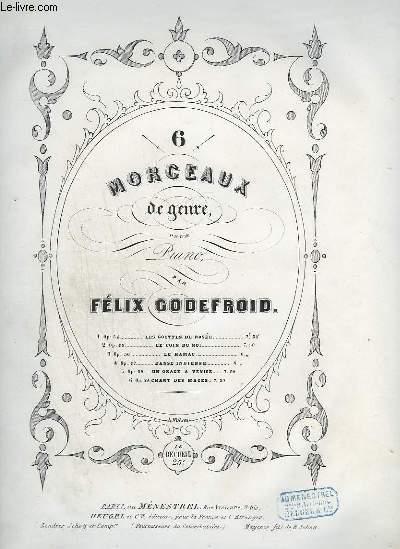 6 MORCEAUX DE GENRE POUR PIANO - N°1 OP.54 : LES GOUTTES DE ROSEE.