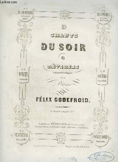 LES CHANTS DU SOIR : MINUIT - REVERIE POUR PIANO.
