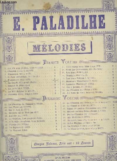 MELODIE N°5 : PURGATOIRE - PIANO ET CHANT.